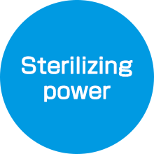 Sterilizing power